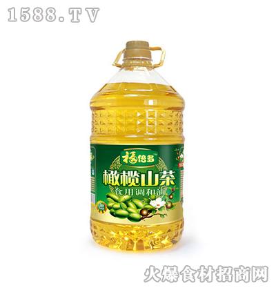 福倍多橄榄山茶食用调和油5L