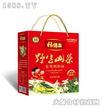 福倍多野生山茶食用调和油礼盒3.6L