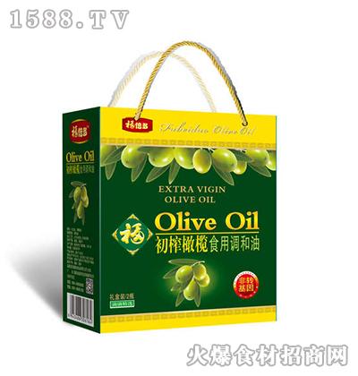 福倍多初榨橄榄食用调和油礼盒3.6L