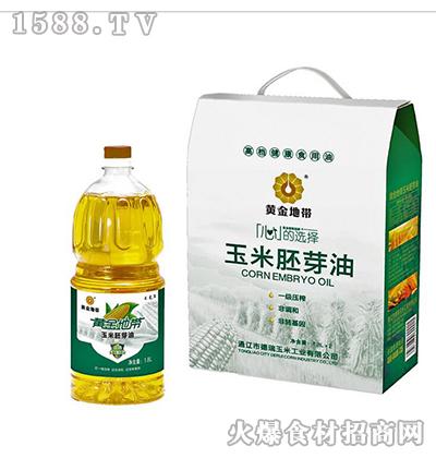 黄金地带玉米胚芽油礼盒3.6L
