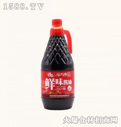马大嫂鲜味酱油1.8L