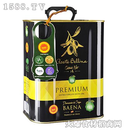 蓓琳娜PDO特级初榨橄榄油3L