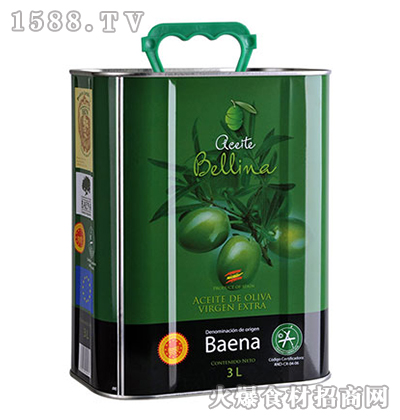 蓓琳娜PDO特级初榨橄榄油-3L
