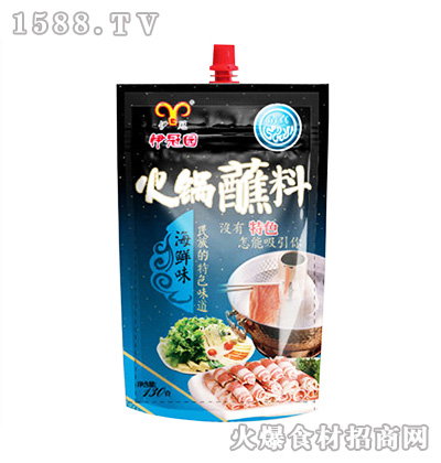 伊冠海鲜味火锅蘸料130克
