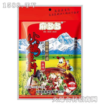 麻多多高原菜籽油火锅底料(麻辣)400克