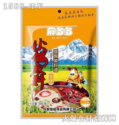 麻多多高原菜籽油火锅底料(香辣)400克