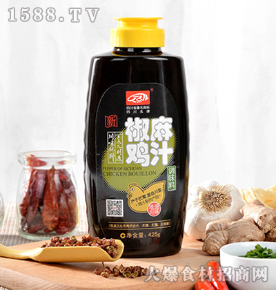 丁点儿椒麻鸡汁425g