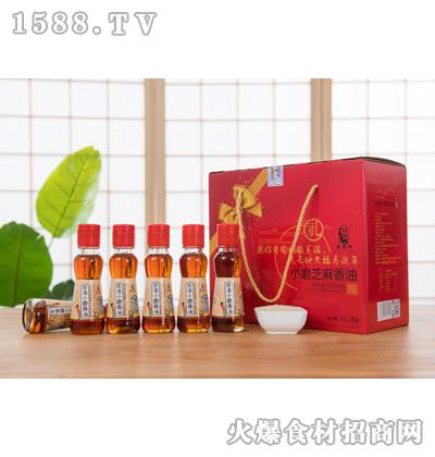 宏发祥小磨芝麻香油120mlx6瓶