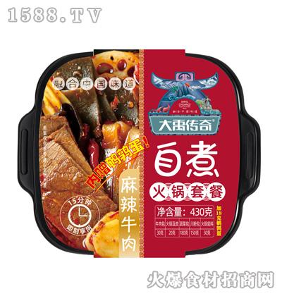 大禹传奇自煮火锅(麻辣牛肉)430克