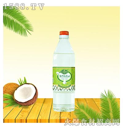 椰泽坊生榨椰子油900ml