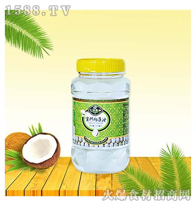 椰泽坊生榨椰子油500ml