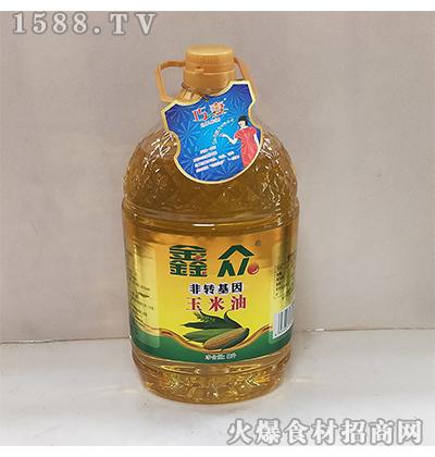 鑫众玉米油5L