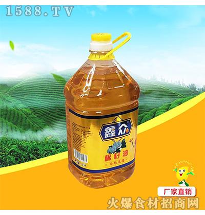 鑫众棉籽油5L