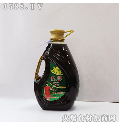 巧妻浓香菜籽油5L