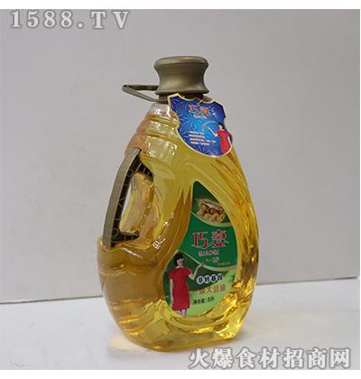 巧妻一级大豆油5L