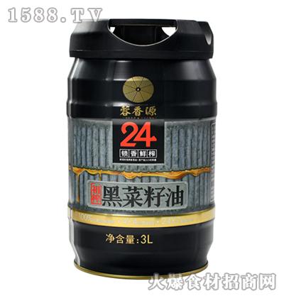 蓉香源初榨黑菜籽油-3L