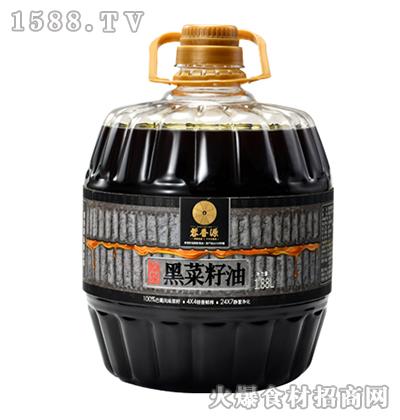 蓉香源初榨黑菜籽油1.88L