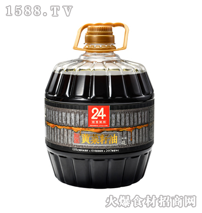 蓉香源初榨黄菜籽油-4L