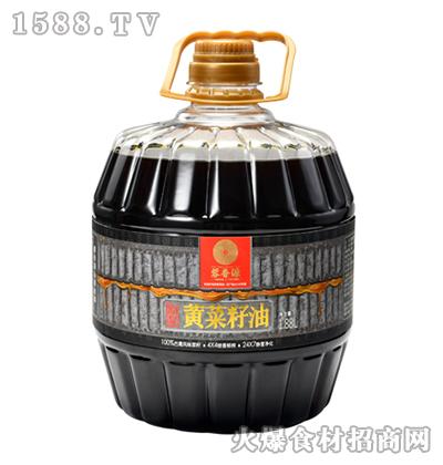 蓉香源原浆黄菜籽油1.88L