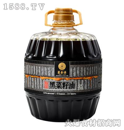 蓉香源原浆黑菜籽油1.88L