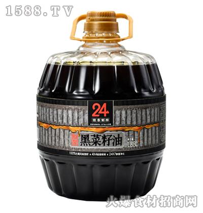 蓉香源原浆黑菜籽油-1.88L