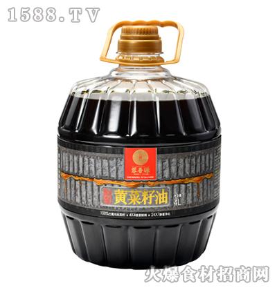 蓉香源原浆黄菜籽油4L
