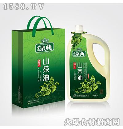 绿典纯正山茶油5L