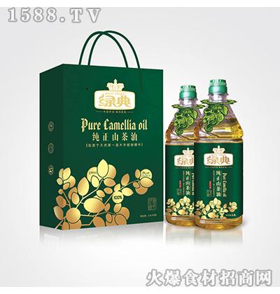 绿典纯正山茶油1.8L