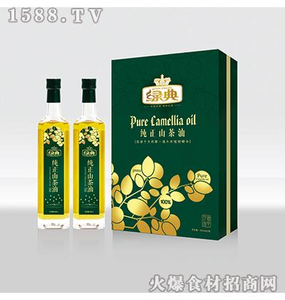 绿典纯正山茶油500ml