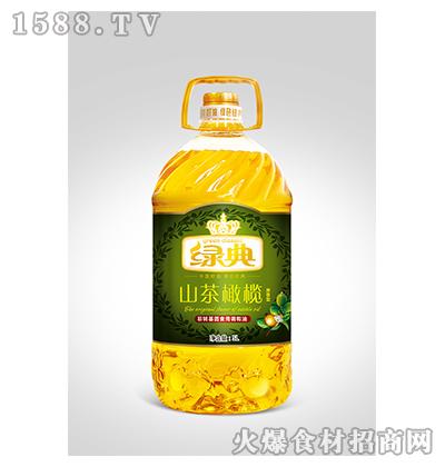 绿典山茶橄榄非转基因食用调和油5L