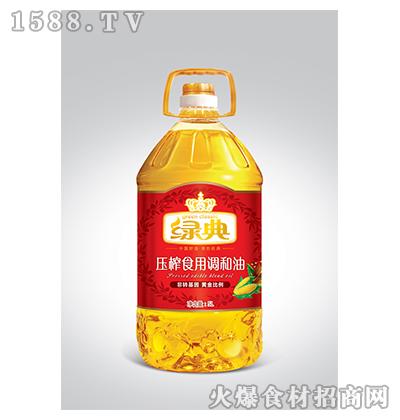 绿典压榨食用调和油5L