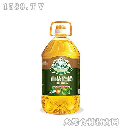 绿色经典山茶橄榄食用调和油5L