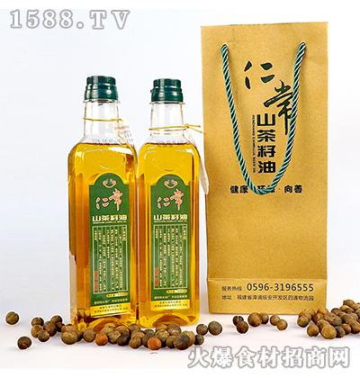 仁常山茶籽油550ml