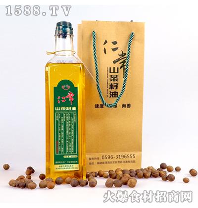 仁常山茶籽油880ml