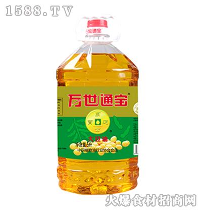 万世通宝大豆油5升