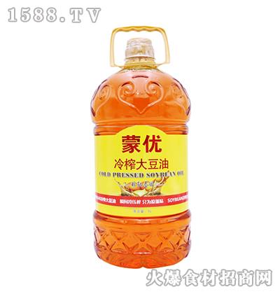 冷榨大豆油5L