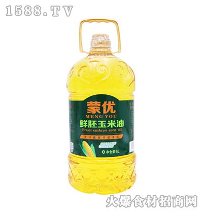 蒙优鲜胚玉米油5L