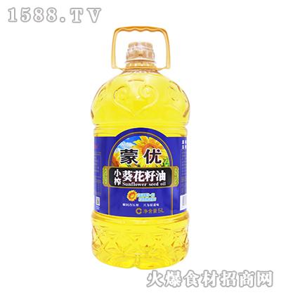 蒙优小榨葵花籽油5L