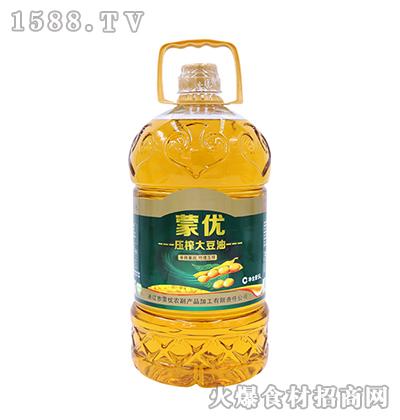 蒙优压榨大豆油5L