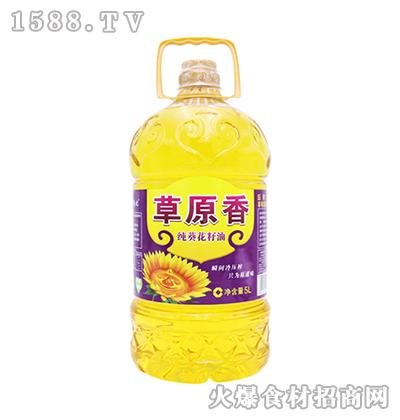 蒙优草原香纯葵花籽油5L