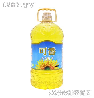 蒙优可香葵花籽油5L