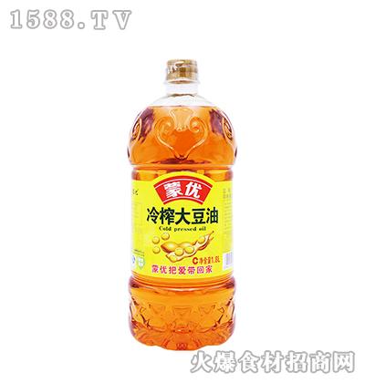 蒙优冷榨大豆油1.8L