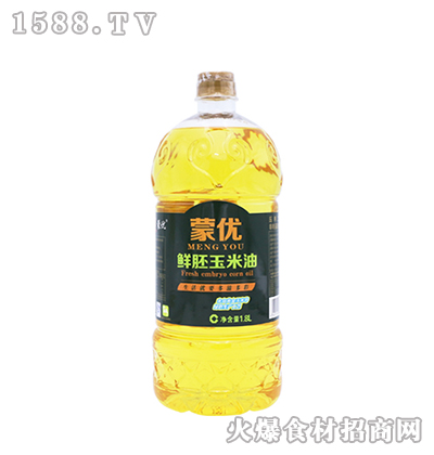 蒙优鲜胚玉米油1.8L