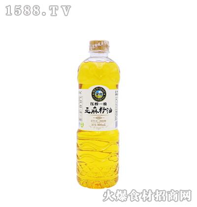 蒙优亚麻籽油800ml