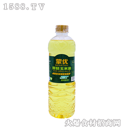 蒙优鲜胚玉米油800ml