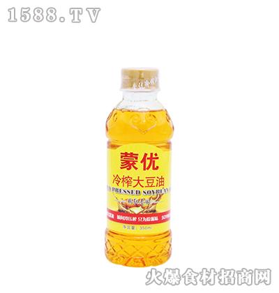 蒙优冷榨大豆油350ml