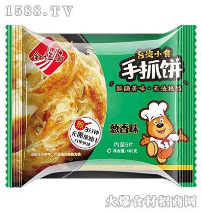 金谊嘉手抓饼葱香味400g