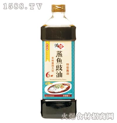 鸿浩蒸鱼豉油1L