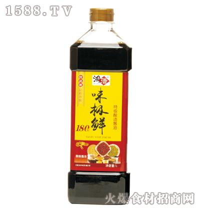 鸿浩味极鲜特级酿造酱油1L
