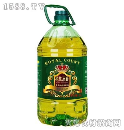 皇家食品橄榄原香食用植物调和油5L